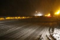 Bolu Dağı'nda kar çilesi!