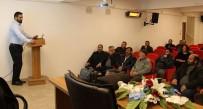 Erzincan'da Besiciler Buzağı İshalleri Ve Korunma Yolları Hususunda Bilgilendirildi