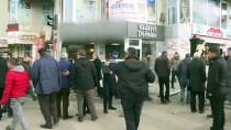 MIGROS - Erzurum'da Kontrolden Çıkan Otomobil İş Yerine Girdi Açıklaması 1 Yaralı