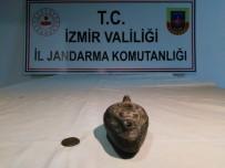 BIZANS - İzmir'de Tarihi Eserleri Satmak İsterken Suçüstü Yakalandılar