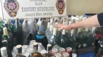 Kırklareli'nde Kaçak İçki Operasyonu Açıklaması 9 Gözaltı