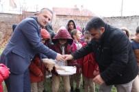 SOLMAZ - Minik Kalpler Sokak Hayvanlarını Unutmadı
