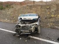 Tekerleği Patlayan Araç Takla Attı Açıklaması 5 Yaralı