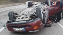 Uzman Çavuş İzin Dönüşü Kaza Yaptı Açıklaması 4 Yaralı