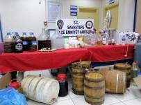 EMNİYET AMİRLİĞİ - Bağ Evini Kaçak İçki İmalathanesi Yaptı