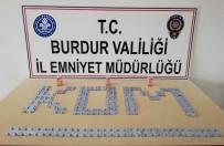 Burdur'da Kaçak İlaç Satan Şüpheli Yakalandı