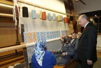 AİLE VE SOSYAL POLİTİKALAR BAKANI - Cumhurbaşkanı Erdoğan, Hereke Halı Fabrikası'nı Ziyaret Etti