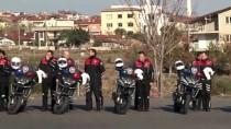 ÇEVİK KUVVET - Denizli'de Eğitimini Tamamlayan Yunus Polisleri Gösteri Yaptı