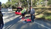 Ehliyetsiz Sürücünün Kullandığı Araçta Can Pazarı Açıklaması 4 Yaralı