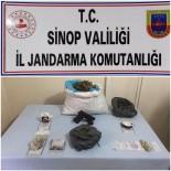 Gerze'de Uyuşturucu Operasyonu Açıklaması 2 Gözaltı