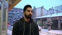 Kars'ta Kar Yağışı Etkisini Sürdürüyor