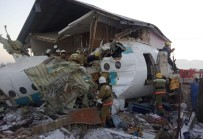 KıRGıZISTAN - Kazakistan'da Uçak Kazasında Hayatını Kaybedenlerin Sayısı 15'E Yükseldi