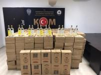 Manavgat'ta Sahte Ve Kaçak İçki Operasyonu