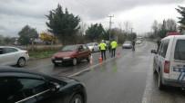 Polis Silahları Çekip Yakaladı