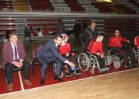 TAHA AKGÜL - Sivas Valisi Salih Ayhan Boccia Oynadı