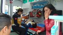Yaya Geçidinde Çocuğa Çarpan Sürücüden Gazetecilere Tepki