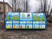 ÇÖP KONTEYNERİ - Aslanapa Belediyesi Geri Dönüşüm Merkezi Oluşturdu