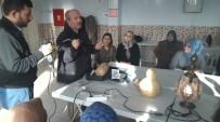 Bolvadin'de Ustalar Kursiyerlerle Buluşuyor