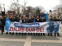 Bursa'da Doğu Türkistan Eylemi