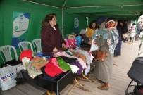 Kadınlardan Hamamyolu'nda Hediyelik Eşya Sergisi