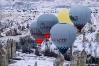 Kapadokya'da Balonlar 6 Günün Ardından Havalandı
