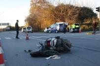 Kasksız Motosiklet Sürücüsünün Kırmızı Işık İhlali Ölümle Sonuçlandı