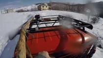 FAZLA MESAİ - Kesintisiz Enerji İçin Çetin Kış Koşullarıyla Savaşıyorlar