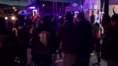 Tekirdağ'da Tır İle Otomobil Çarpıştı Açıklaması 6 Yaralı