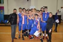 BASKETBOL TAKIMI - Vedat Topçuoğlu Anadolu Lisesi Basketbolda İl İkincisi