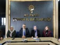 Ahlatcı, AK Partili Kadınlarla Bir Araya Geldi