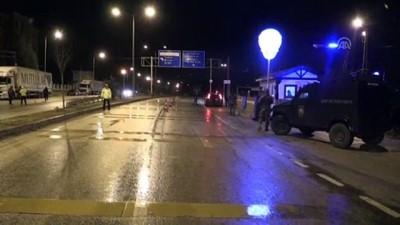 Amasya'da Yılbaşı Öncesi Trafik Ve Asayiş Uygulaması Yapıldı