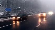AŞIRI HIZ - Bolu Dağı'nda Kar Yağışı Etkili Oluyor