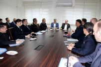 MEHMET AKTAŞ - Emniyet Genel Müdürü Aktaş Çalışmalar Hakkında Bilgi Aldı