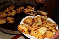 Erzincan'da Soğuk Kış Akşamlarının Lezzeti Açıklaması Kaşarlı Patates
