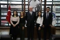 Eskişehir Azerbaycanlılar Derneği Gençlik Kolları'ndan Başkan Kurt'a Ziyaret