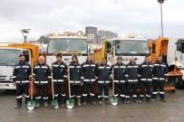 Eyüpsultan Belediyesi Özel Araçlarıyla Kışa Hazır