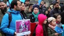 HOLLANDA - Hollanda'da Doğu Türkistan Protestosu