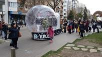 Kar Küresi 6 Ocak'a Kadar Hamamyolu'nda