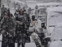 BATı KARADENIZ - Kuvvetli sağanak ve yoğun kar yağışı geliyor
