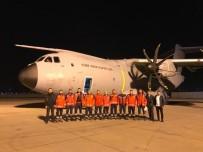 HAVA KUVVETLERİ KOMUTANLIĞI - Somali'ye 20 Kişilik Sağlık Ekibi Taşıyan Uçan Kale, Ankara'dan Havalandı