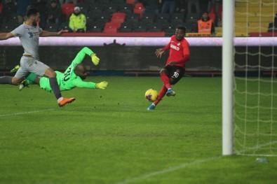 Süper Lig Açıklaması Gaziantep FK Açıklaması 1 - Yeni Malatyaspor Açıklaması 0 (İlk Yarı)