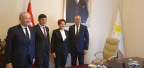 KEMER SIKMA - Başkan Özcan İYİ Parti Lideri İle Buluştu