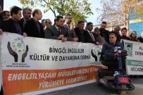 Bingöl'deki Engellilerden 'Kaldırım İşgaline Son' Çağrısı