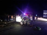 Burdur'da Trafik Kazası Açıklaması 1 Ölü, 2 Yaralı