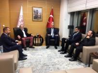 LÜTFİ KIRDAR - Kültür Ve Turizm Bakanı Ersoy, Emmy Ödüllü Haluk Bilginer'i Tebrik Etti