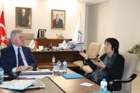 BENZERLIK - New England Yükseköğretim Komisyonu Başkanı Prof. Dr. Brittingham, YÖKAK'ı Ziyaret Etti