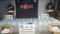 ANKARA EMNİYET MÜDÜRLÜĞÜ - Ankara'da sahte içki operasyonu!