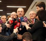 HULUSİ AKAR - Bakan Çavuşoğlu, İYİ Parti Görüşmesi Bitti