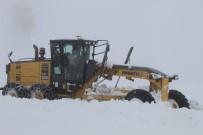 Bingöl'de  Kış, 80 Köy Yolu Ulaşıma Kapandı