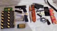 Bursa'da Kaçak Silah Operasyonu, 1'İ Kadın Üç Kişi Gözaltına Alındı